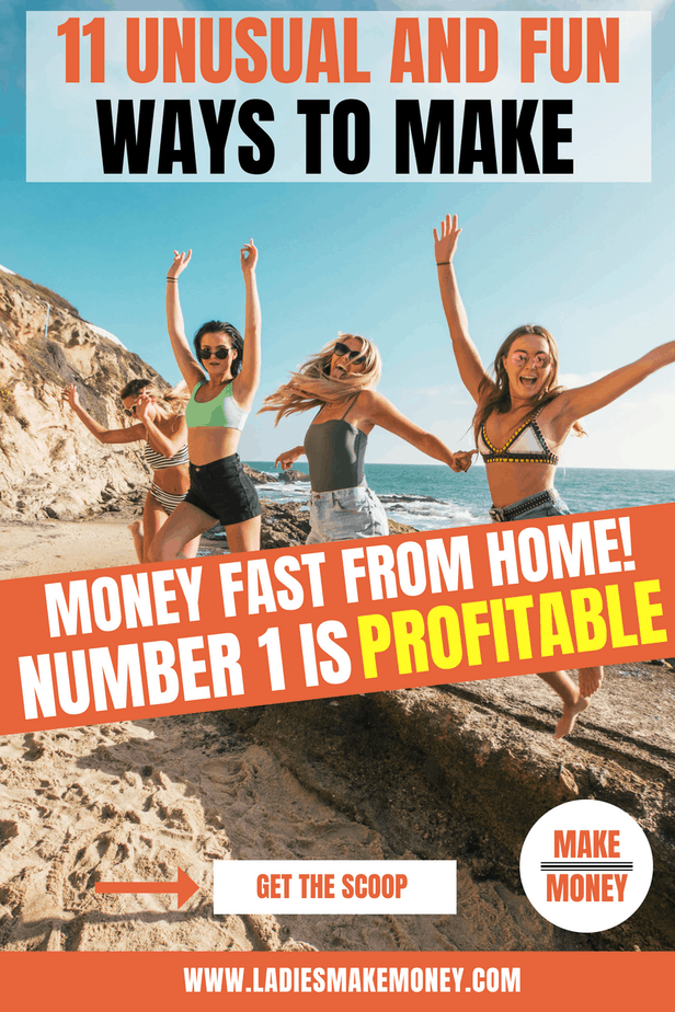 We have a detailed post full of creative ways you can make money fast working from home. Are looking for easy ways to add extra cash to your wallet? Would you like to work at home? Here are some fun and unusual ways you can make money from home. #workfromhome #oddjobs #makemoney #sidegigs #sidehustle #workathome #earnmoney
