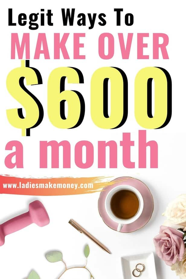 Here are 7 flexible side gigs to work in free time and make $600 per month. Looking for ways to side hustle in 2020? These side hustle ideas will help you make extra money every month! Follow these online side hustles are perfect for those wanting more money! #makemoney #sidegigs #workathomejobs #workfromhomejobs #earnfastcash #makemoneyonline