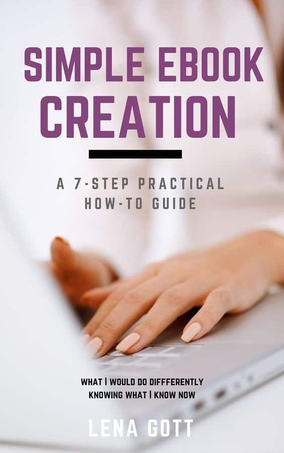Simple eBook Creation. Want to create an eBook but don't know where to start? Look no further! This 7 step guide will walk you through the process. {affiliate link}