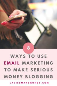 Why Email Marketing is Essential for Bloggers, Especially If You Want to Make Money Blogging. Understand why email marketing for bloggers matters and how to get started for free. Grow your list and make money with email marketing. Here is a step by step email marketing guide for beginner bloggers. Learn all there is about email marketing with this email marketing strategy post.