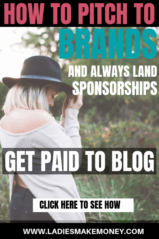 How to pitch to brands for collaborations. Want to know how to work with brands as a blog? Want to earn money as a blogger and collaborate with your favorite brands? We have tips on how to pitch to brands to find sponsored blog posts work. Make money with your blog using sponsorship! #workingwithbrands #sponsoredblog #sponsoredwork