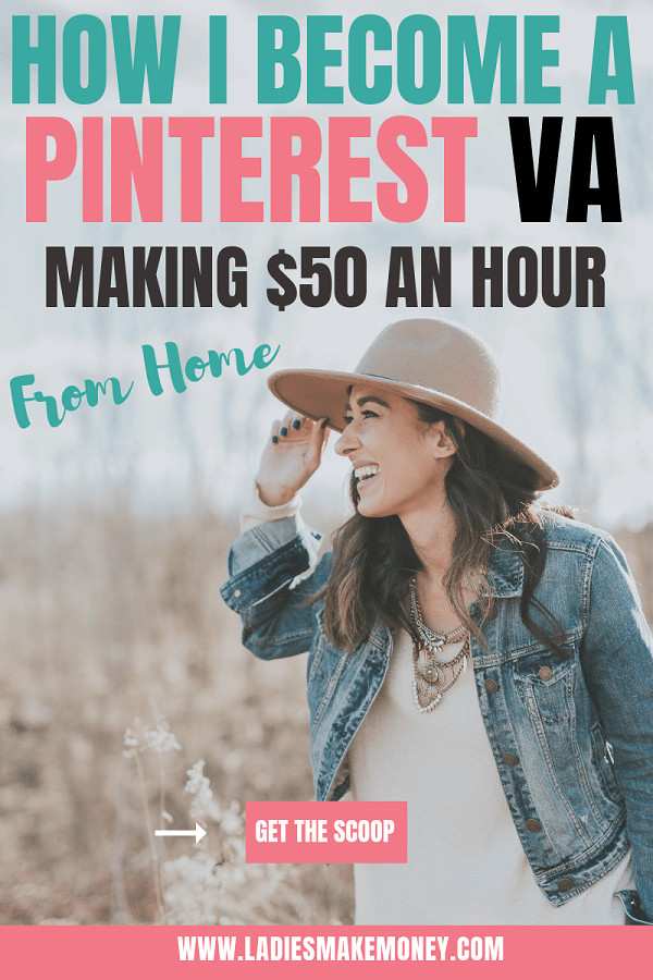 Use Pinterest to make a full time income online! Learn how to become a Pinterest virtual assistant and start your own online Pinterest business. Find out how to make $25-$50 per hour using Pinterest by becoming a Pinterest VA! Everything you need to know about being a Pinterest Manager #pinterestvirtualassistant