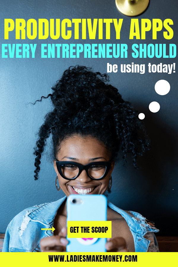 Here is a list of the best productivity apps for bloggers, female entrepreneurs and business women. Use these productivity apps to help manage your business and life. Check out my list of free productivity apps to manage your time. #productivityapps #productivityhacks