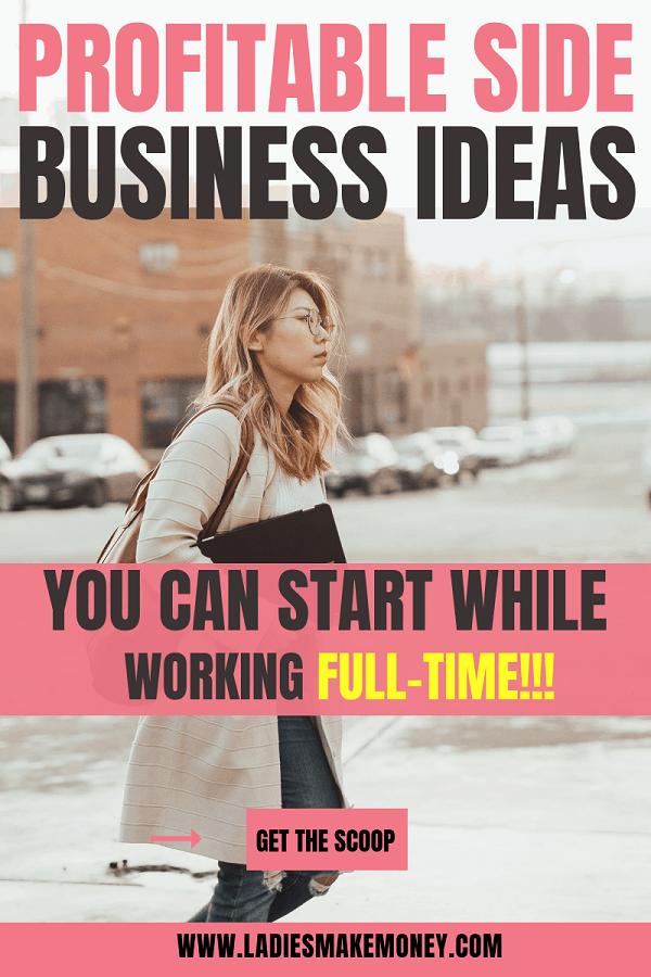 If you are stuck on what side business ideas will make you extra money and passive income, we have a great list. Start these low cost side business ideas to make extra money from home. They are perfect for stay at home moms, students and women! #workfromhome #extraincome #passiveincome