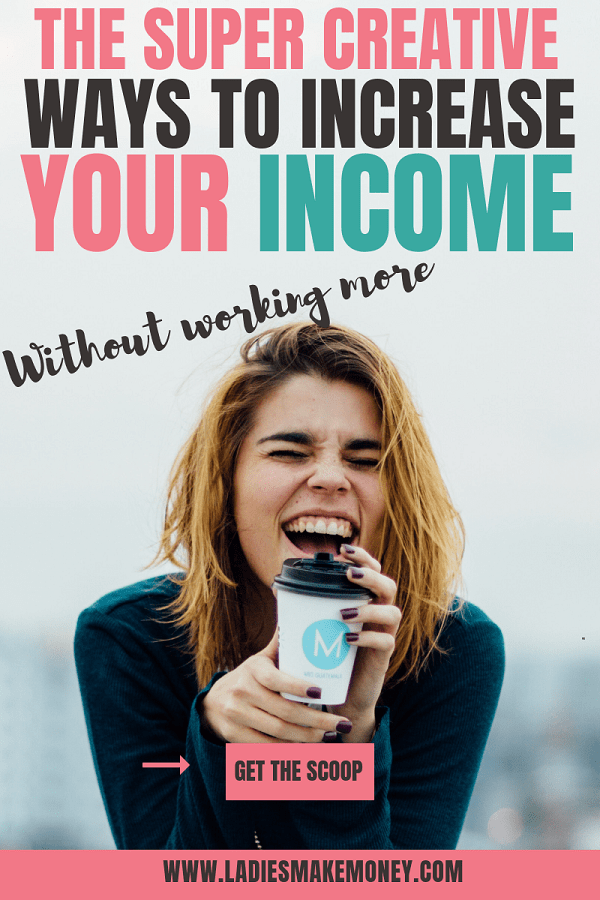 Here is exactly how you can increase your income without working more hours everyday. If you want to make extra money from home to help pay bills be sure to read this today. We are going to show you how to earn extra income with little effort. #sidehustle #makemoneyonline #workfromhome