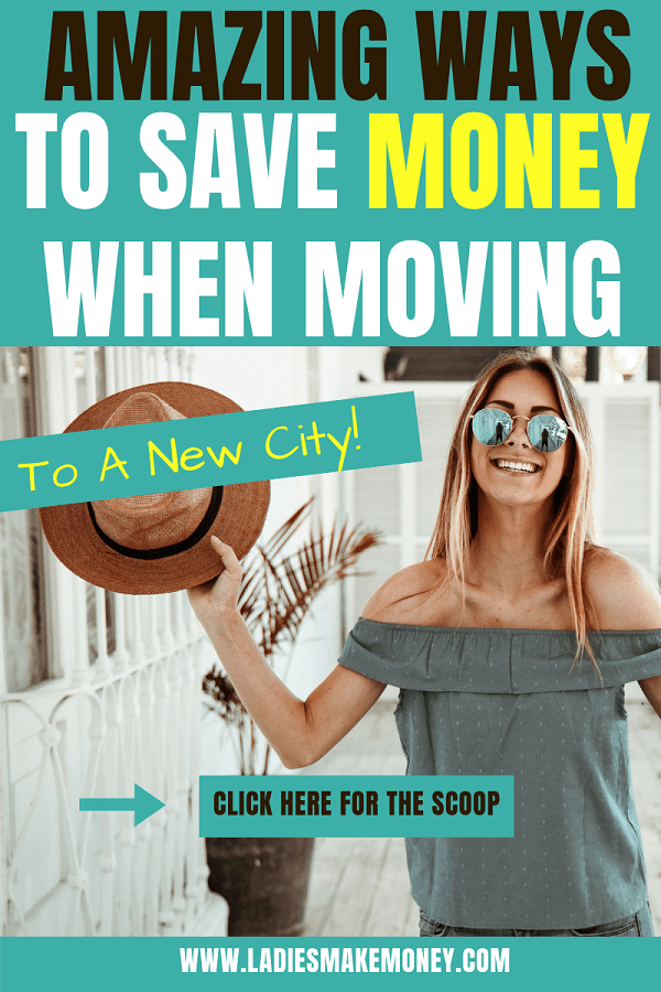 Here are a few tips to save money when moving to a new city or a new house. Use these tips to save money when you decide to move. #movingout #savingmoney #frugalliving