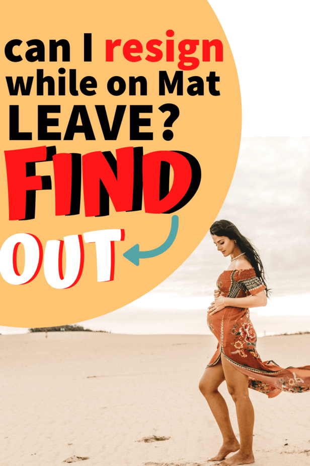 If you are thinking of quitting while on maternity leave, you can do so with proper planning. Can you make extra money while on mat leave? Can you afford to not have a job while on mat leave? Consider all your options and cover all your basis #maternityleave #workingonmatleave