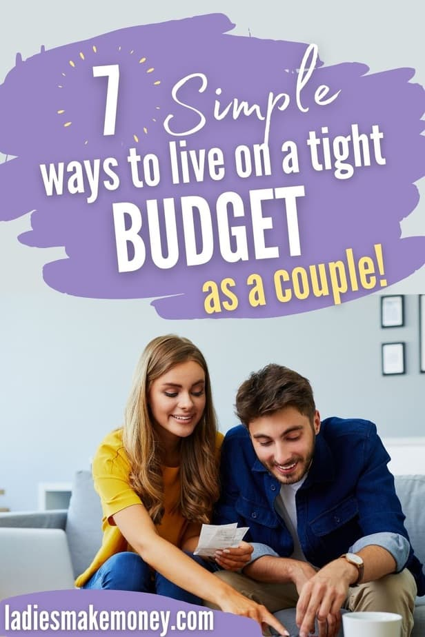 Get these tips for living on a tight budget! Learn how to live on a budget, how to save more money, and how to survive living on a tight budget. If you need to incorporate frugality into your live to save money every day, try these frugal living tips and tricks! Save money on food, utilities and more with these best tips for living on a tight budget! We use these tips too to live on one small income! #moneysavingtips #savemoneytips #finance