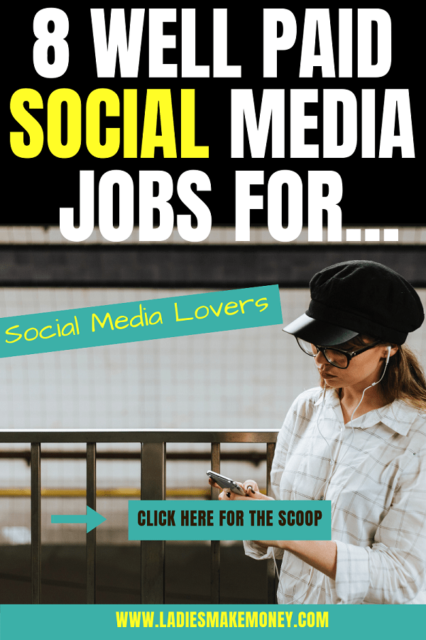 Wondering how you can make money as social media influencer? By becoming a social media influencer you can get paid jobs. We have a full list of paid social media jobs you can do to make extra money. Want to know how much social media influencers make? Read this post. #socialmediamanager #makemoneyonline