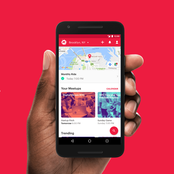 Use the meetup friend app to find more friends in your area to hang out with #friendapp #meetupapp