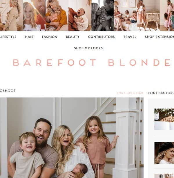 the barefoot blonde