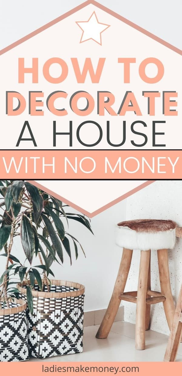 Wondering how to decorate a house on a budget? You don't have to have a big budget (or even a medium one) to make your home beautiful to you. Decorating your home on a budget doesn't have to be scary, nor do you have to sacrifice your personal style. Let's get started with some of these awesome decoration ideas! When it comes time to decorate on a budget, DIY skills and finding extra money will get your house or apartment where it needs to be. #decoratingonabudget #decortips