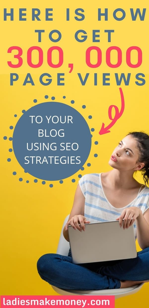 SEO Tip for bloggers - the exact strategies I use to get high search ranking for your blog. A beginner's guide for bloggers looking to get more blog traffic using Google and SEO #easybacklinks #SEO