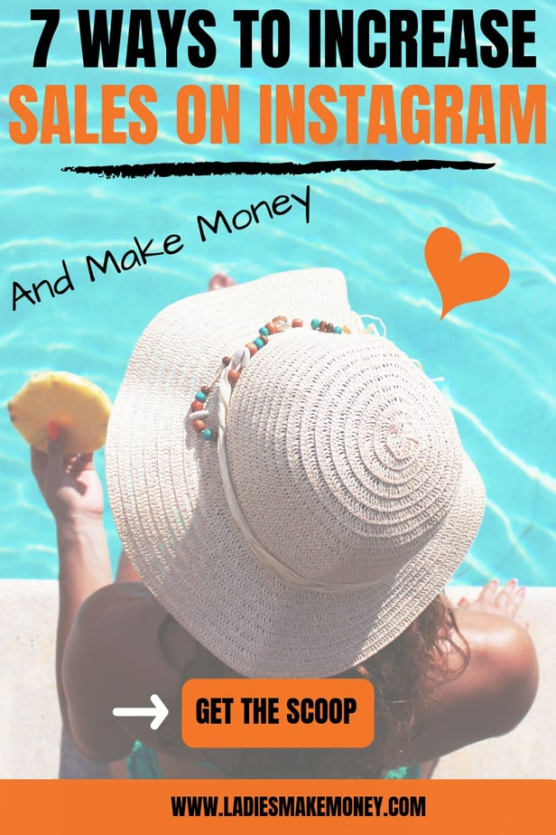 Want to learn how to increase sales on Instagram? We have great tips. Find out exactly how to make money on Instagram #makemoneyoninstagram #instagramtips #socialmedia