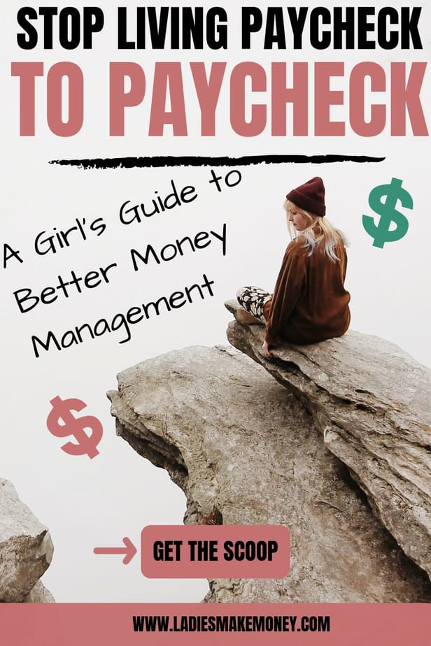 Tips on how to stop living paycheck to paycheck and budget your money better. Avoid going into debt by using our tips to get your money in order. Become debt free and pay off debt right now #budgettips #moneymanagement