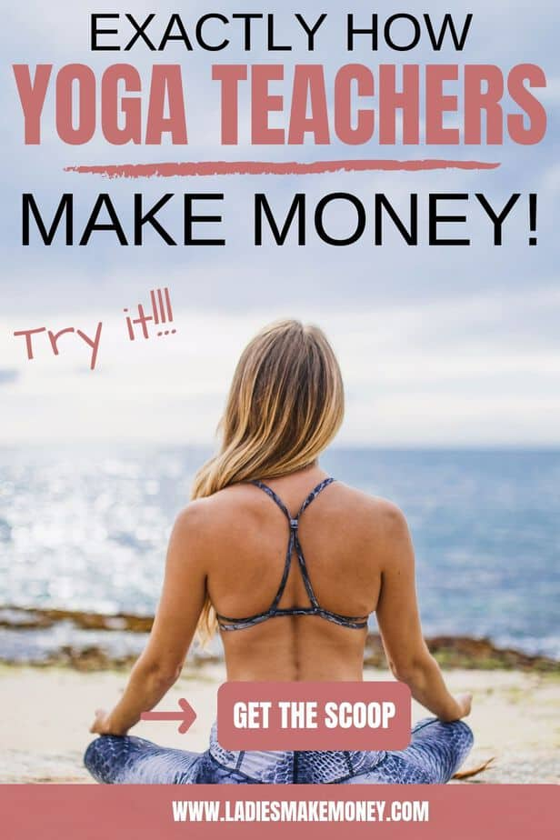 Yoga is such a big deal now, as a yoga teacher, you can not make a living by relying on limited income streams. Here are a few awesome ways to make money as a yoga teacher this year #yoga #wellness #teachyoga #yogainstuctor