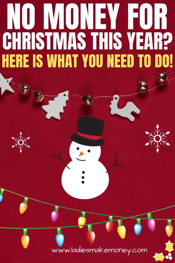 If you have no money for Christmas this year and you are on a tight budget, then go ahead and read this. We share all our best tips for planning Christmas on a budget! No money for Christmas gifts? Read this #moneytips #christmasonabudget #christmas #holidaytips #holidaybudget