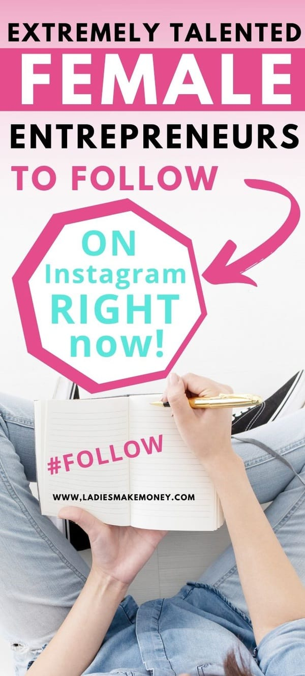 Here are a few top female entrepreneurs to follow on Instagram! If you wondering who to follow on Instagram inspiration! Follow these women on Instagram today #Instagram #EntrepreneursonInstagram