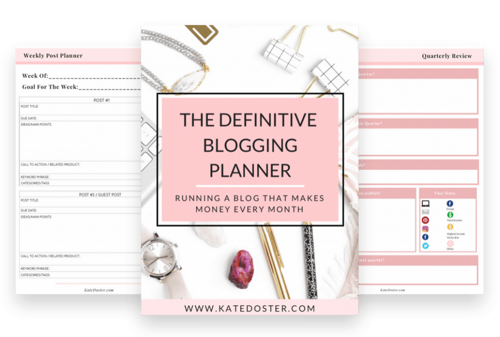 Kate Doster Planner for creatives
