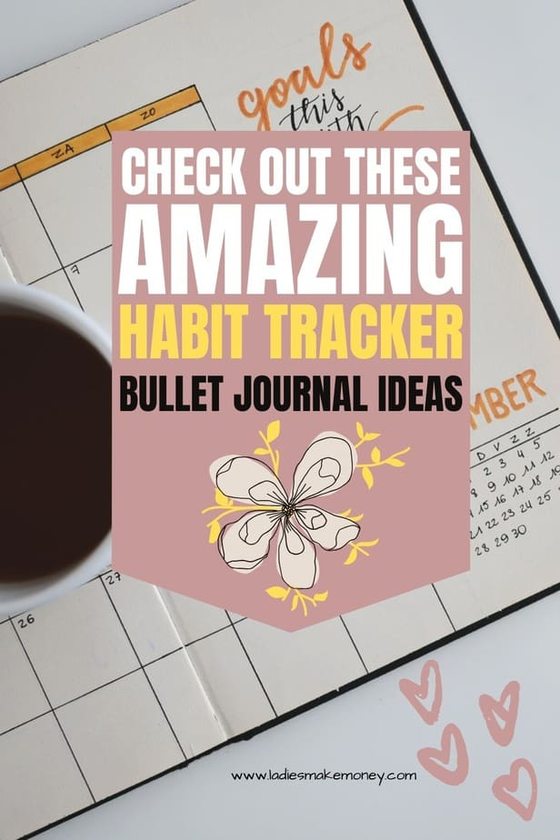 Here is a list of Habit Tracker Bullet Journal Ideas! his list of bullet journal template ideas is everything you need right now. habit tracker spreads in your bullet journal? #bulletjournal #bullethabittracker
