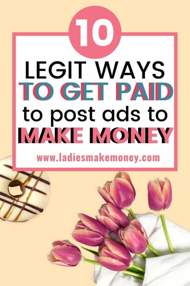 "If you are looking for ways to make money posting ads? Posting ads can be considered a form of ""passive income"" as you only have to do the work once and people can click the ad for years in the future. Check out how to make money posting ads #makemoneywithads #postadsonline"