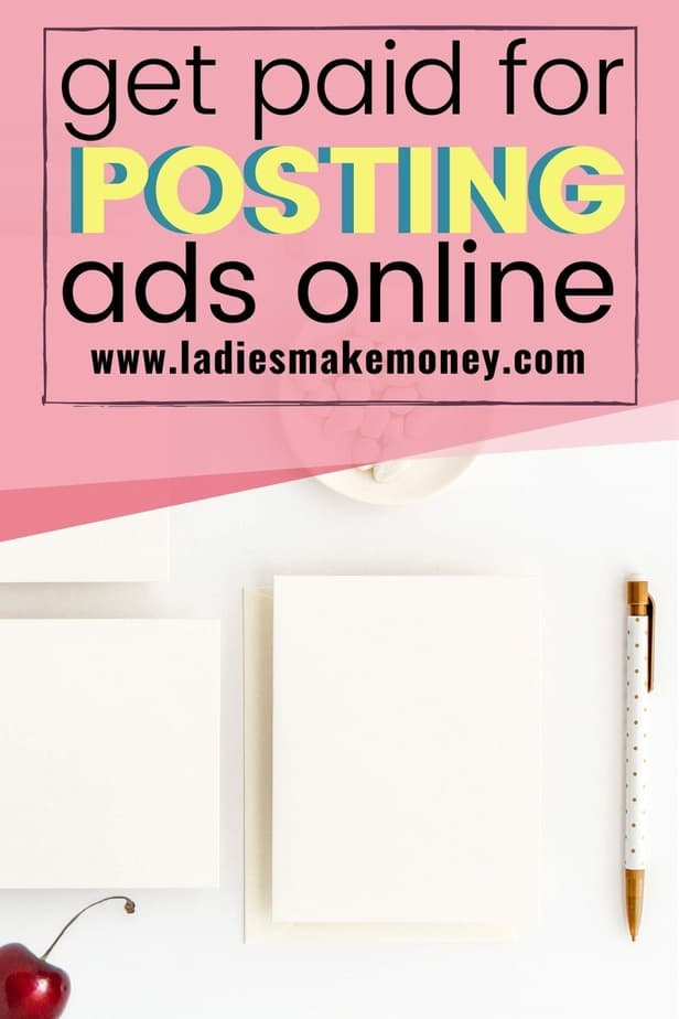 Are you looking to make some extra cash? Now you can get paid to post ads online. Here are the best ways to get paid to post ads on Facebook, social media, Twitter, Instagram, your blog and companies online EVERYTHING you need to know on how to earn money online, click now! | #getpaidtopostads #postads #workfromhome #sidehustle