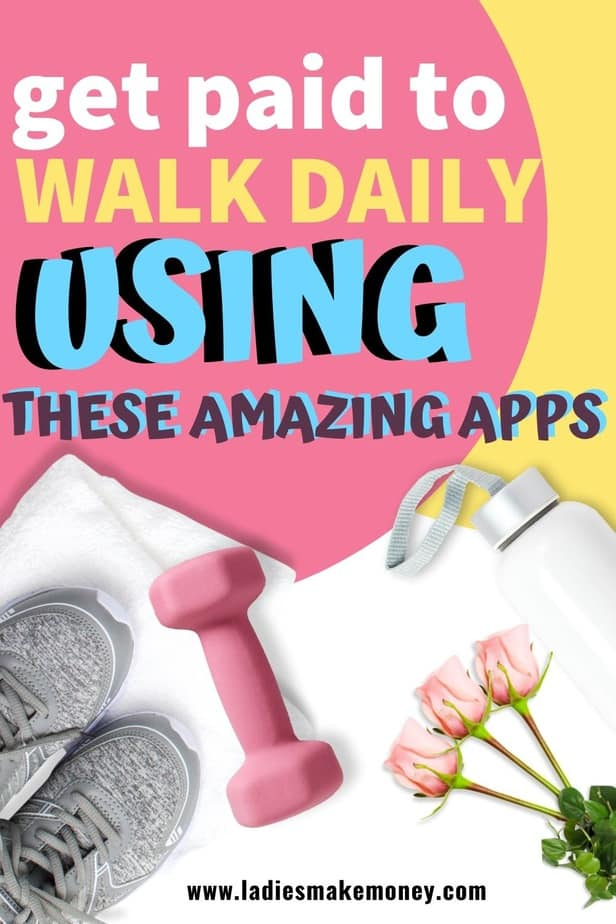 Get paid to exercise and walk today. Want to make money from home? Use these apps to make money today #makeonline #walkingtips