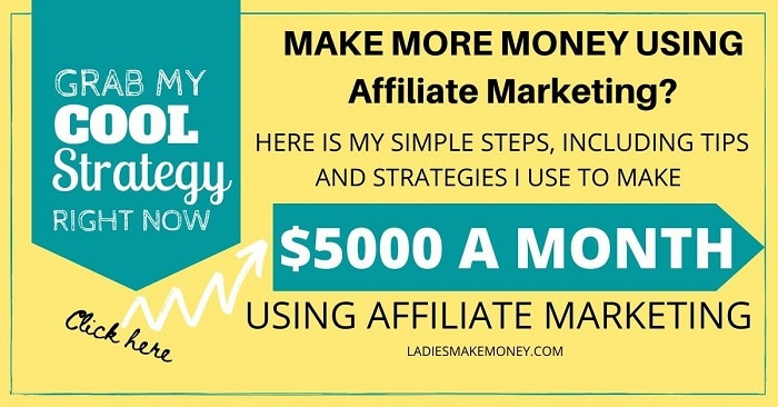 How to make extra money using affiliate marketing easily!