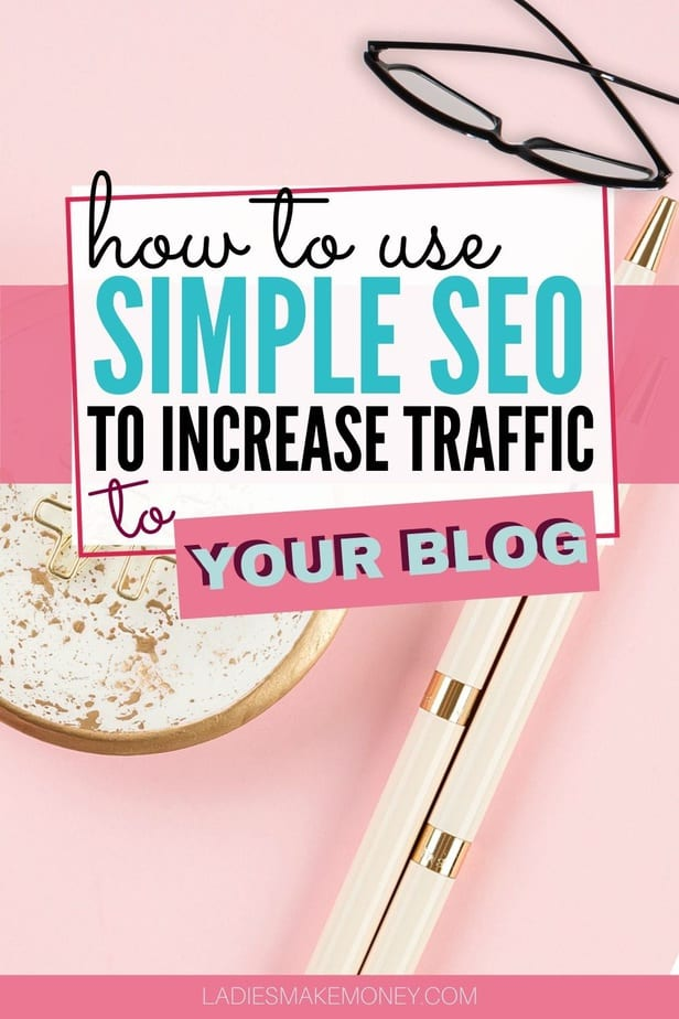 Are you tired of seeing little blog traffic? Interested in qualifying for Mediavine? Stupid Simple SEO will teach you how to increase your organic traffic, get backlinks & increase your affiliate income. Stop wasting time trying to figure out which keywords to target. This course is full of video, gets updated regularly & has helped me outrank my competitors even though I have a low DA. Read my Stupid Simple SEO review for my own personal Experience after taking the course #blogging #SEO #blogtraffic #beginnerblogger #makemoney
