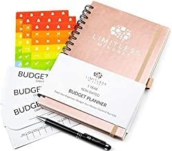 Grab the limitless mindset budget planner today to help you better budget! #budgetplanner #budgettingtips
