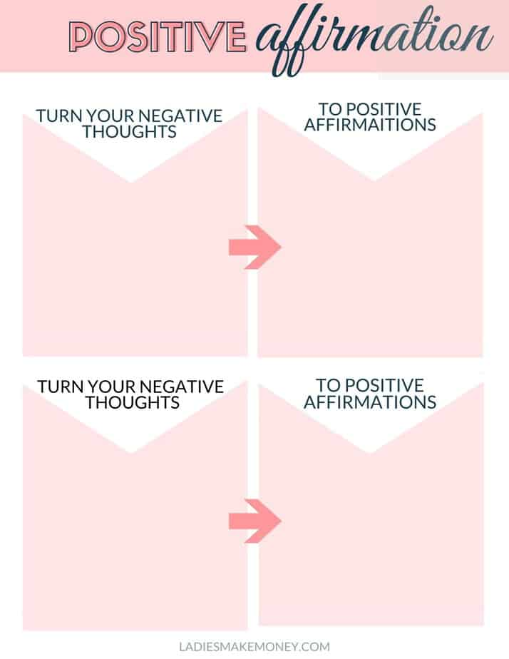 positive affirmation quotes for women! Click here to download this Free Self Affirmation Printables: Print some Positivity