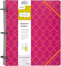 Grab your OrganizHer Expense Tracker! Here is the perfect Expense tracker!