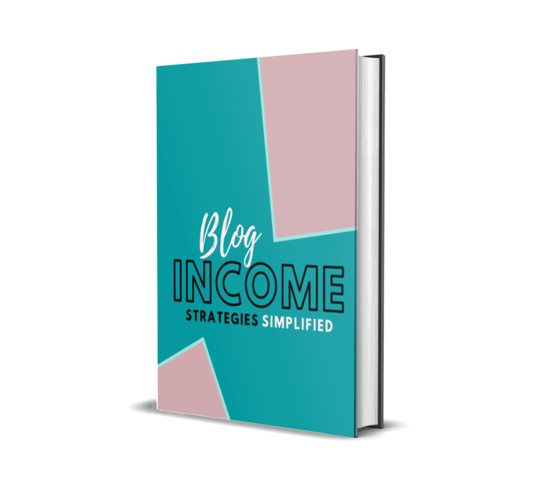 Blog income simplified