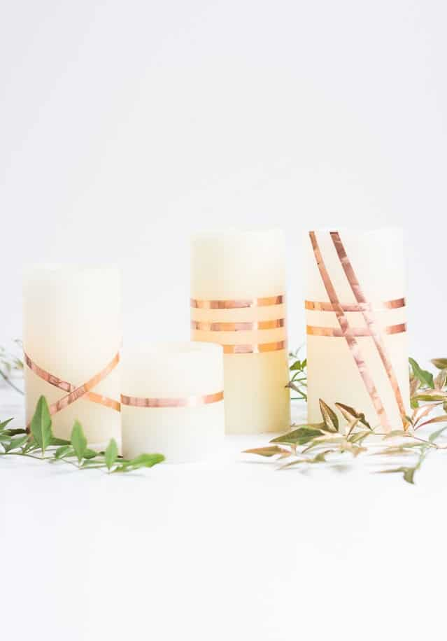 DIY Wrapped candles you can make from home to sell