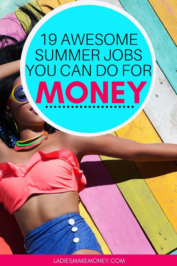 If you are looking for the best summer jobs that pay well in 2020, then you are in luck! Are you home from college this summer and need to make a little spending money? Or maybe you are a mom that needs extra money this summer. Here are 19 of the best summer jobs for college students. Each of these will help you make well above minimum wage. #SummerJob #CollegeJob #MakingMoney