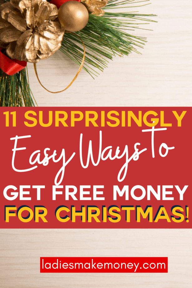 How to Afford Christmas When You're Completely Broke! How to afford Christmas when you are totally broke. Get free money and extra cash for Christmas. Make money online with these 11 tips that pay you for doing almost nothing. #makemoneyonline #earnonline #freemoney #passiveincome #jobsformoms #jobsforteens