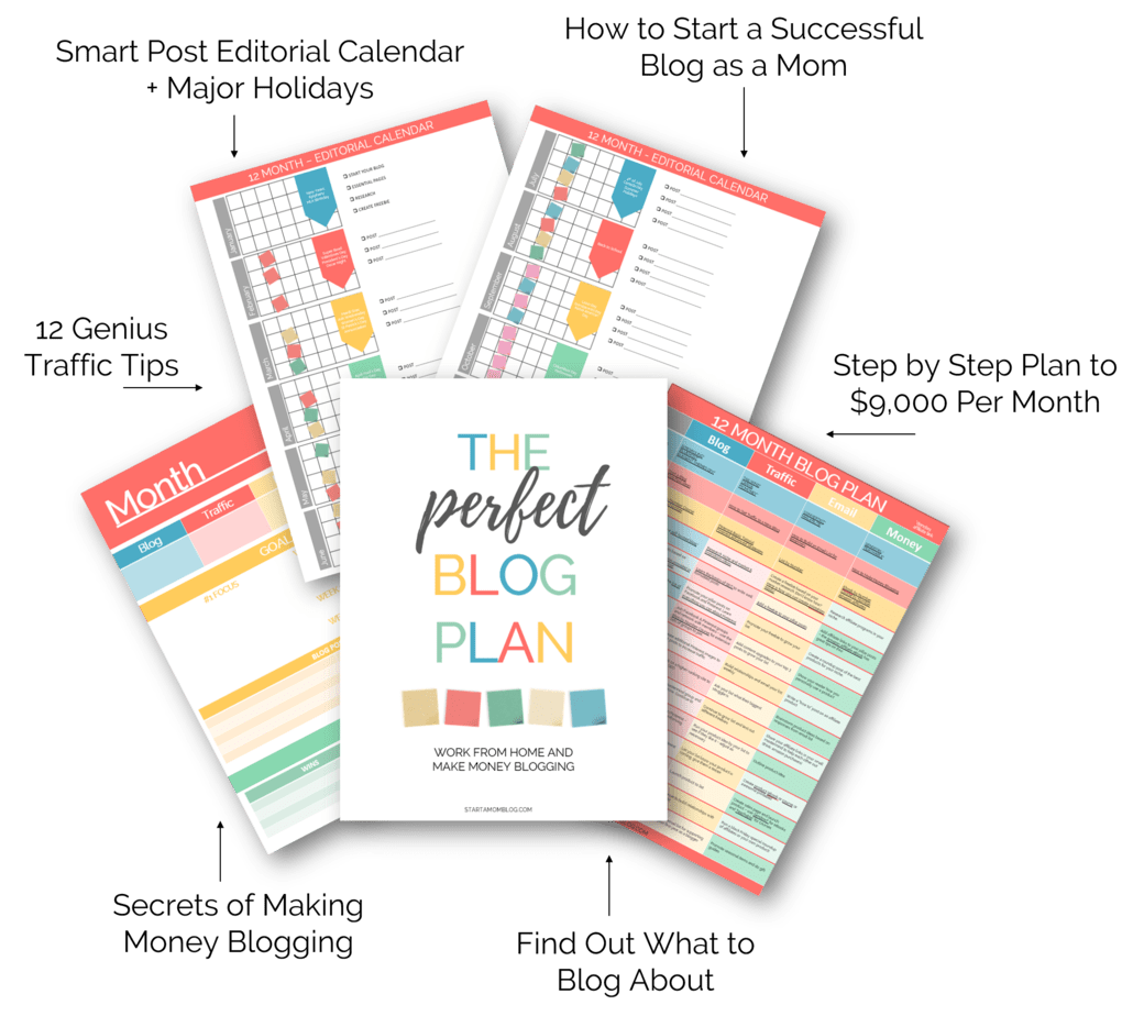 The perfect blog plan to make thousands of dollars per month!