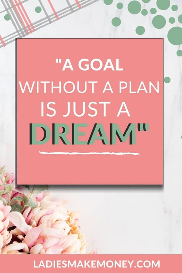 A goal without a plan is only a dream