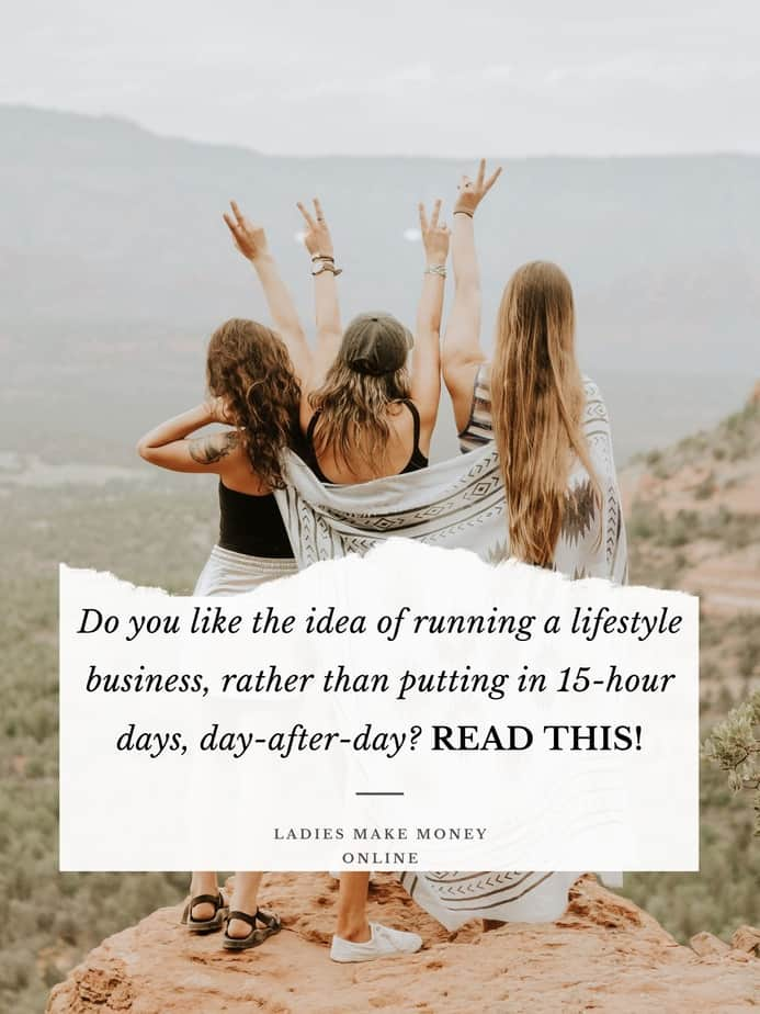Do you like the idea of running a lifestyle business, rather than putting in 15-hour days! Here is how to become a successful entrepreneur working less each time!