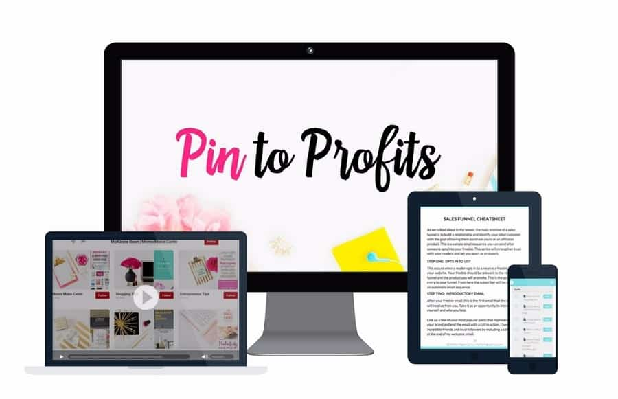 Pin to Profits is one of the best Pinterest course out there for those looking to increase blog traffic and blog income.