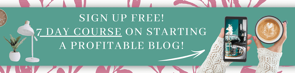 Start a profitable blog
