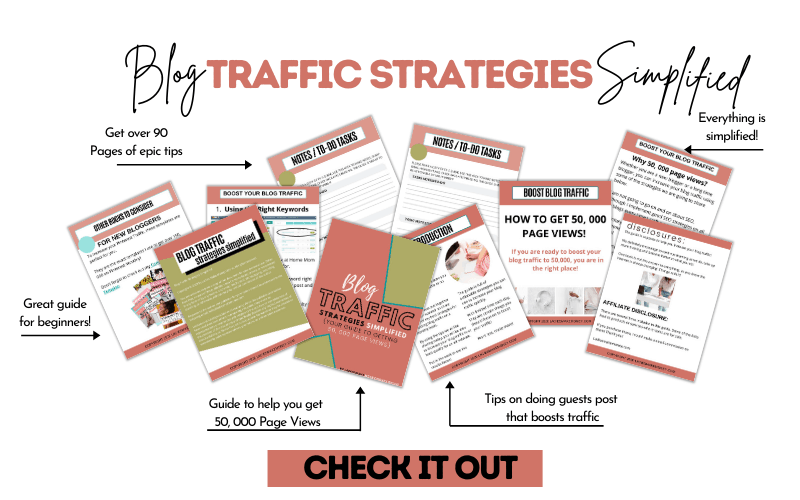 Blog Traffic Simplified Mock up 2