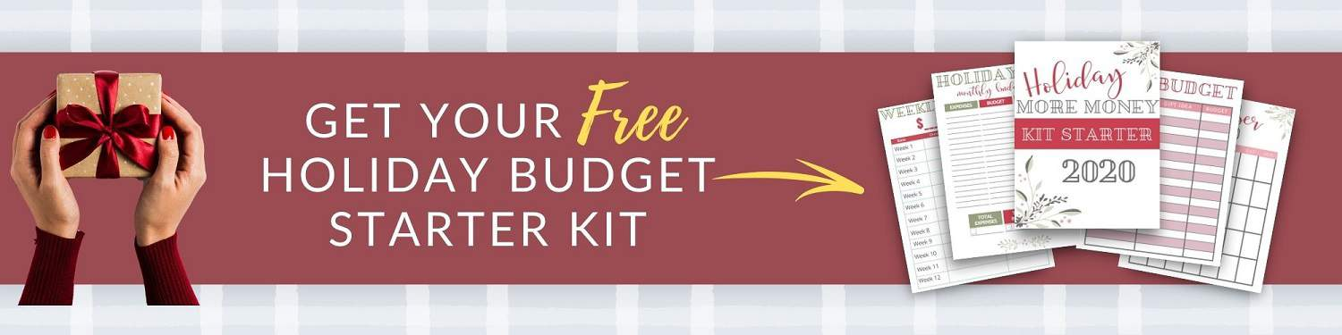Holiday budget. Grab this holiday budget plan to have a merry Christmas on a budget!