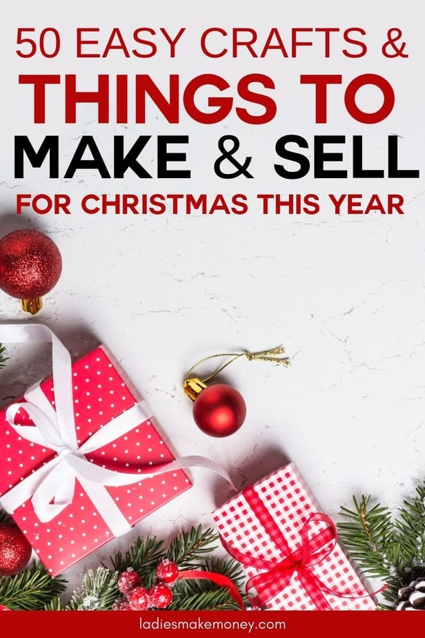 Easy things to make and sell for profit over Christmas! Wondering what Christmas crafts to make and sell for a profit this holiday season? Here are the easiest DIY holiday crafts you can make and sell today...50 Easy Christmas Crafts to Make and Sell for Profit - Ladies Make Money Online Looking for easy crafts to make and sell? Try one of these simple DIY projects that sell well online & start turning your hobby into a profitable business! Easy things you can make and sell as a stay at home mom. Crafts to Make and Sell for money. Here is a quick list of 50 most profitable, cheap, and easy to do diy crafts for 2020.