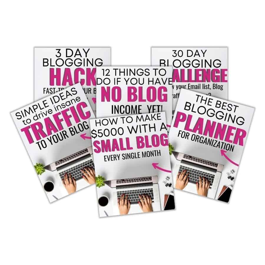 Freebies for bloggers.
