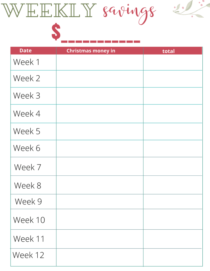 Weekly savings tracker printable. Free Printable Savings Tracker Grab this free printable savings tracker to help you start saving for your next big expense and achieve your financial goals!