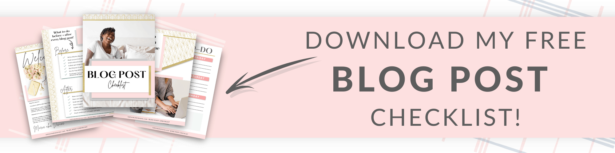 Free blog post checklist for bloggers. Here are the steps you should follow before and after creating your post.