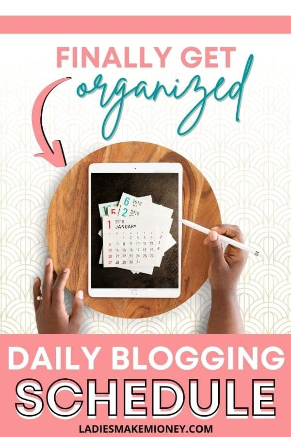 Daily blogging tasks and schedule for busy bloggers