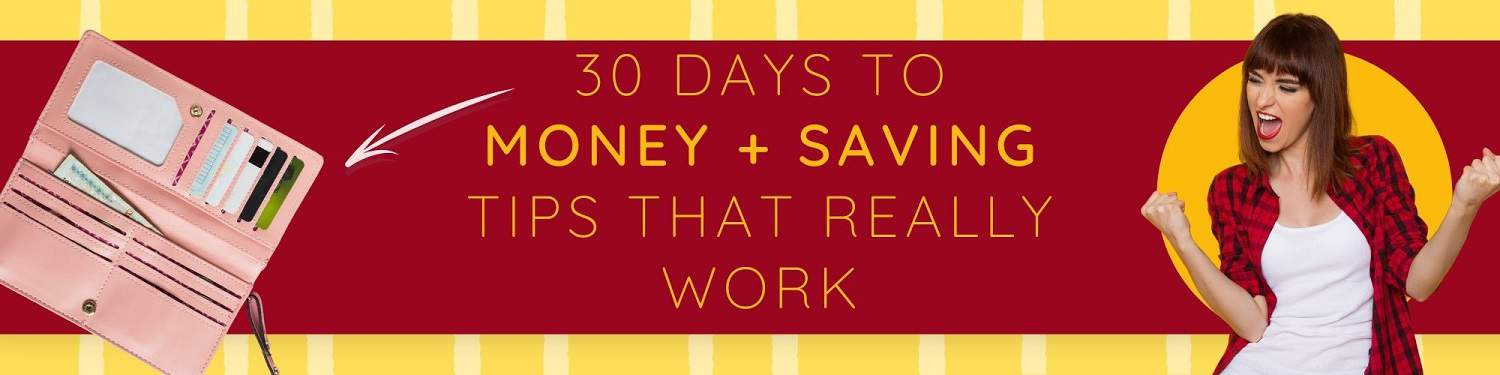30 Days to more money challenge