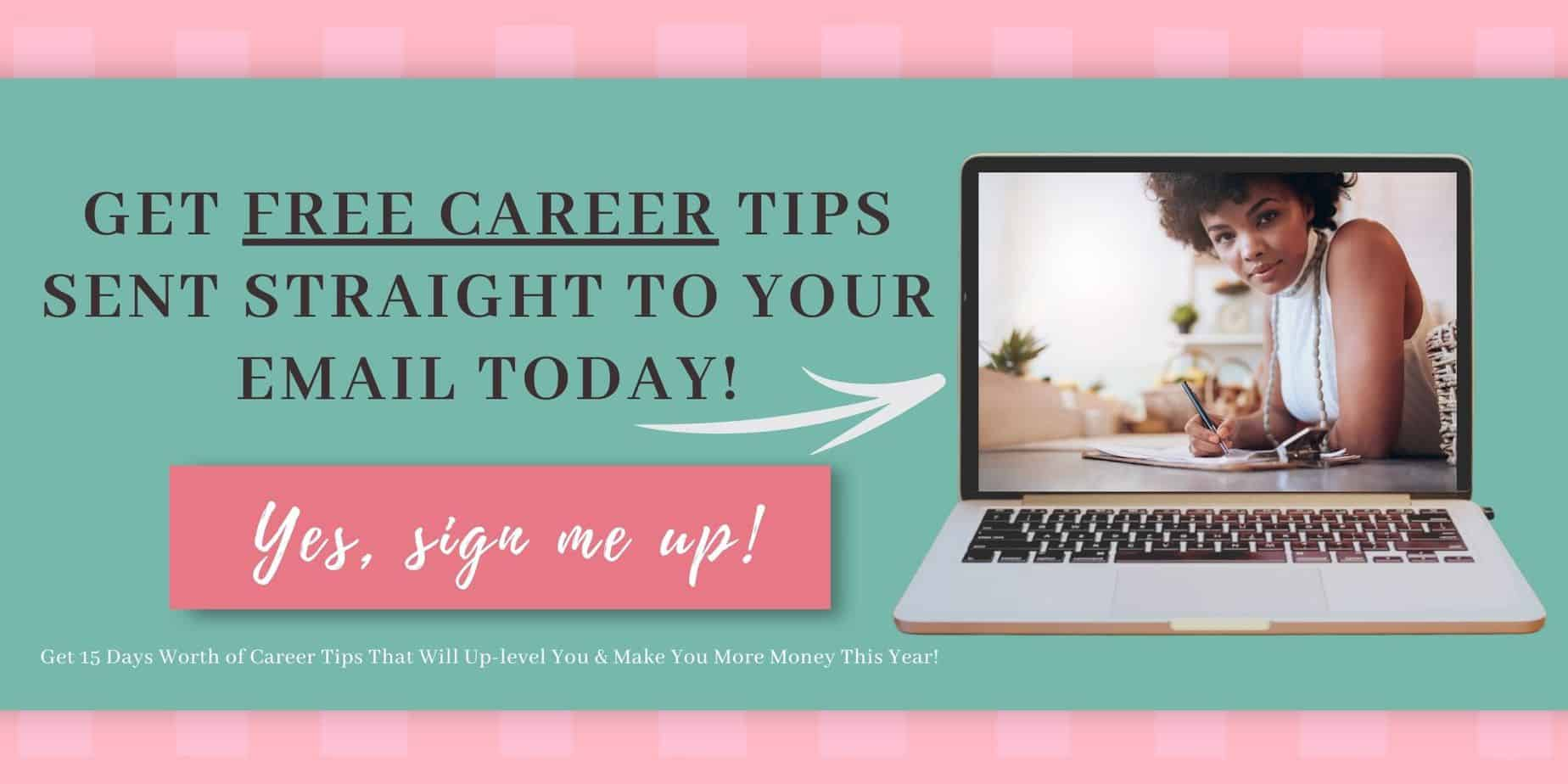 Career advice for women to help growth!